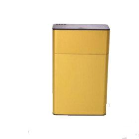 Dedo metalna zlatna tabakera