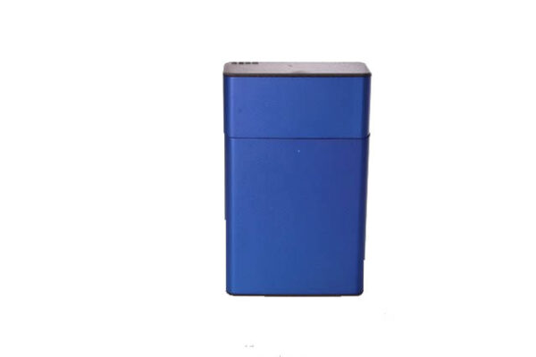 dedo tabakera plava metalna