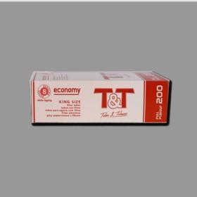T&T Tobacco&Tubes 200 White 15mm