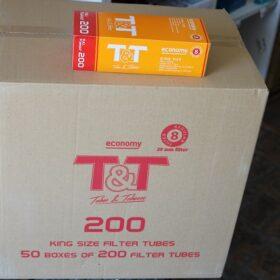 T&T Tobacco&Tubes 200 Long 20mm Orange