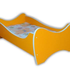 Serija Midi Colour-Orange Dečiji krevet sa dušekom i letvicama