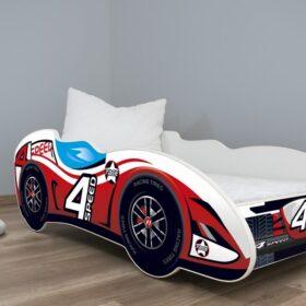 Serija Formula 1-dečiji krevet 4 Speed sa dušekom i letvicama