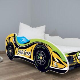 Serija F1-BeeFree  Dečiji krevet sa dušekom i letvicama