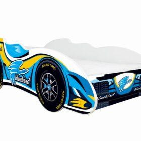Serija F1-Blue Bird  dečiji krevet sa dušekom i letvicama