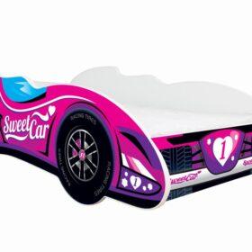 Serija F1-Sweet Car  dečiji krevet sa dušekom i letvicama