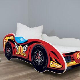Serija Formula 1-dečiji krevet Top Car sa dušekom i letvicama