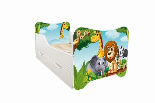 krevet za decu africke zivotinje