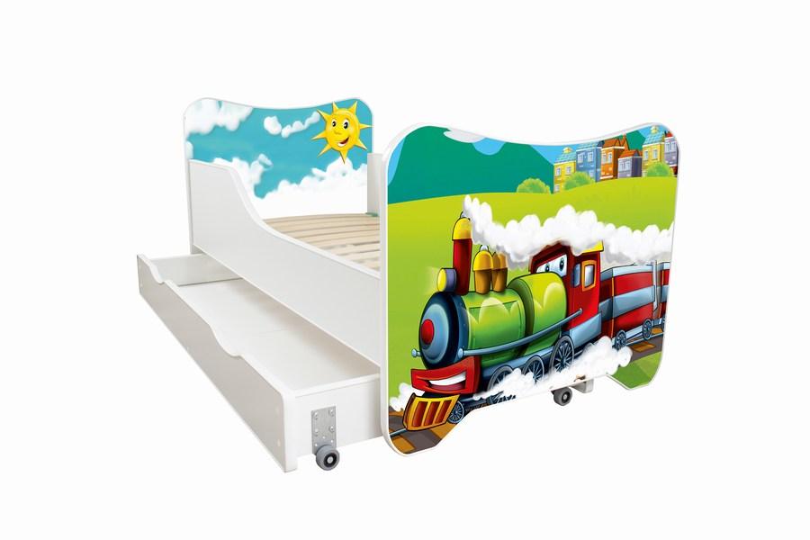 lokomotiva krevet