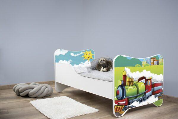 Deciji krevet Happy Kitty Choo Choo