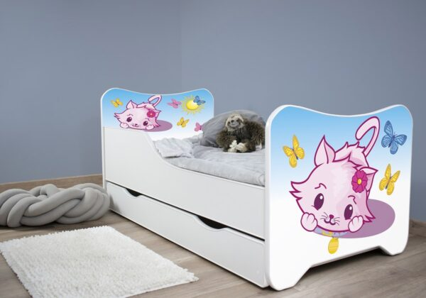 Litl kiti krevet sa fiokama