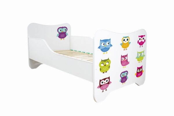 Krevet za decu sa sovama