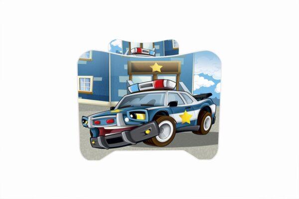 Deciji krevet policijski automobil