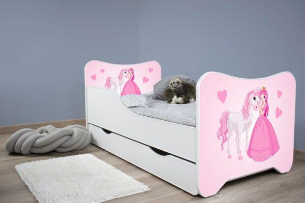 deciji krevet sa fiokom princeza i konj