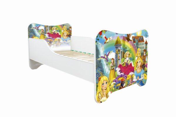 Dečiji krevetić za devojčice princeze