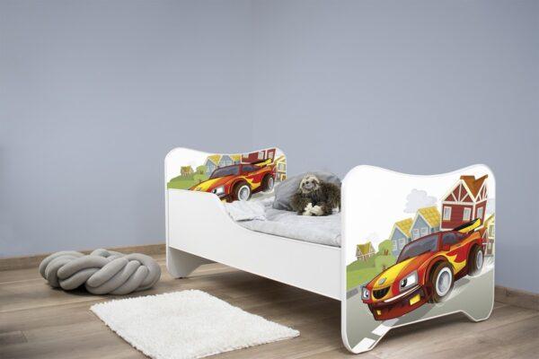 Deciji krevet kao trkacki automobil