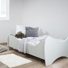 Serija Midi Pastel-Mint Dečiji krevet sa dušekom i letvicama