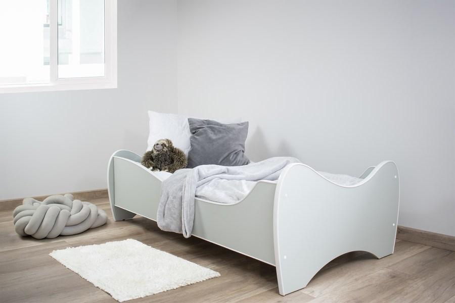 Midi pastelni krevet