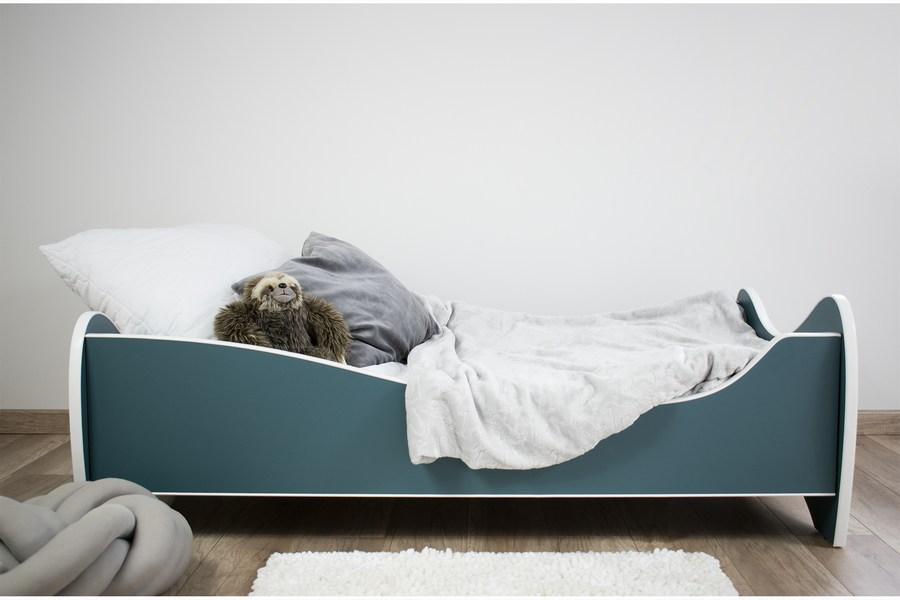 pastel tirkiz krevet