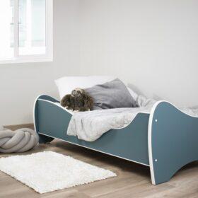 Serija Midi Pastel-Turquoise dečiji krevet sa dušekom i letvicama (Copy)