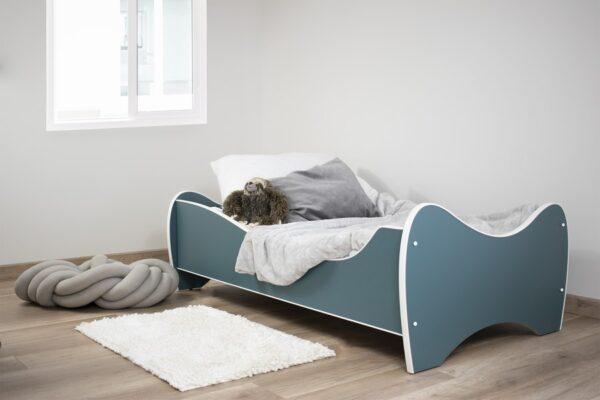 pastel tirkiz krevet za decu