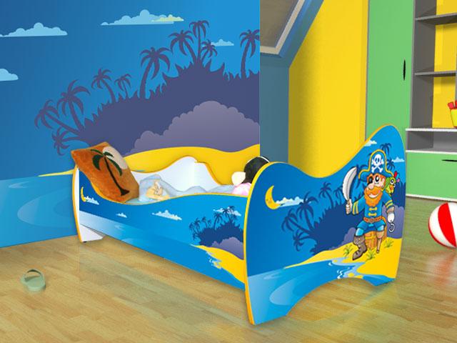 dečiji krevet pirat