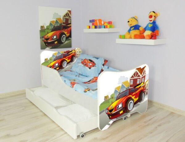 Krevet sa fiokama trkacki auto