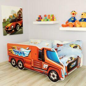 Serija Truck-Big Truck  Dečiji krevet sa dušekom i letvicama