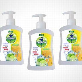 Clinico antibakterijski tečni sapun Green Lemon 220ml.