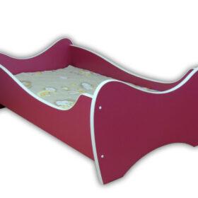 Serija Midi Colour-Fushsia Dečiji krevet sa dušekom i letvicama 160x80cm