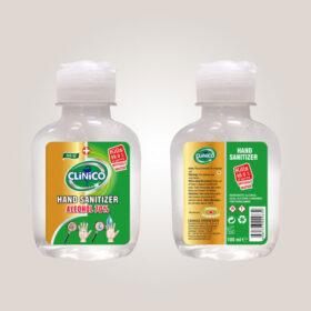 Clinico Sanitizer Gel za suvo pranje ruku 100ml.