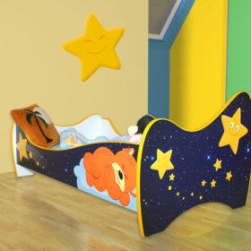 Serija Nova-New  Bear Dečiji krevet sa dušekom i letvicama