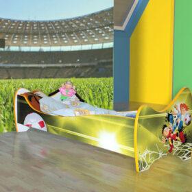 Serija Nova-New  Football Dečiji krevet sa dušekom i letvicama
