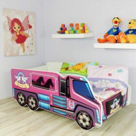 Serija Truck-Pony  Dečiji krevet sa dušekom i letvicama