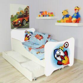 Serija HK sa fiokom-Rockete Dečiji krevet sa dušekom i letvicama