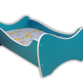 Serija Midi Colour-Turquose Dečiji krevet sa dušekom i letvicama