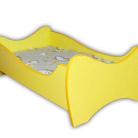 Serija Midi Colour-Yellow Dečiji krevet sa dušekom i letvicama