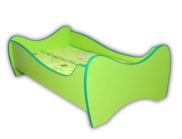 zeleni krevet za decu