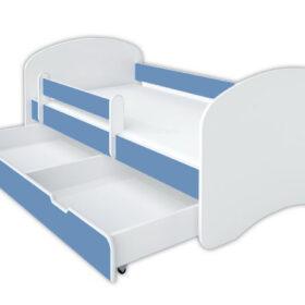 Kreveti Bella Luni-Model Happy 1 svetloplavi