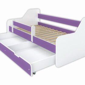 Kreveti Bella Luni-model Dione 1 ljubičasti