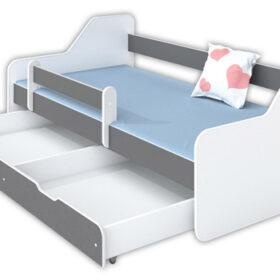 Kreveti Bella Luni-Model Dione 1 sivi