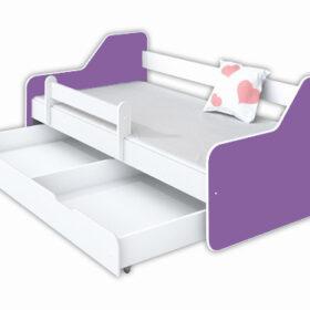 Kreveti Bella Luni-Model Dione 2 ljubičasti