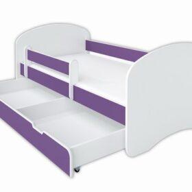 Kreveti Bella Luni-Model Happy 1 ljubičasti