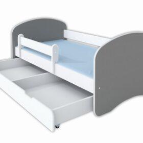 Kreveti Bella Luni-Model Happy 2 Sivi