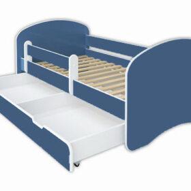 Kreveti Bella Luni-Model Happy 3 ljubičasti