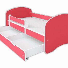 Kreveti Bella Luni-Model Happy 3 roze