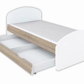 Model Luna 1 krevet sa fiokom sonoma