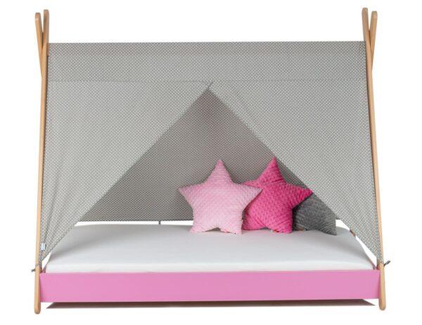roze krevet sator