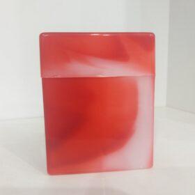 Plastična tabakera za 24 cigarete-crvena