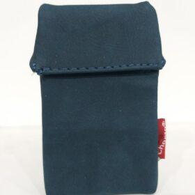 Kožna futrola za paklu cigareta-plava