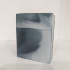 Plastična tabakera za 24 cigarete-siva